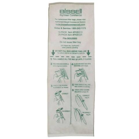 Bissell BigGreen Commercial Vacuum Bag BGU5500 10