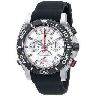 Bulova Men's 98B210 Stainless Steel Precisionist Chronograph 200M UHF Watch