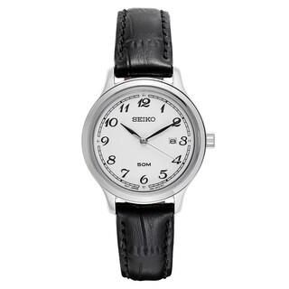 Seiko Women's SUR775 Stainless Steel Silver Tone Watch