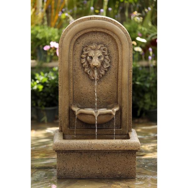 Lion Head Garden Water Fountain Free Shipping Today