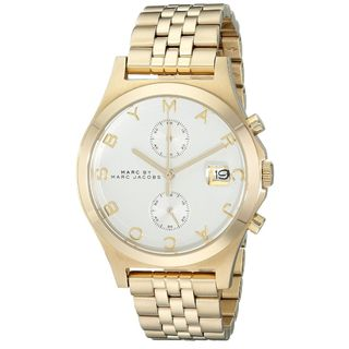Marc Jacobs Women's MBM3379 'Ferus Slim' Chronograph Gold-Tone Stainless Steel Watch