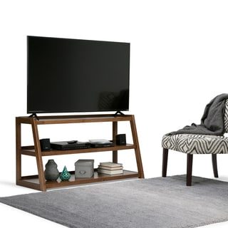 WYNDENHALL Hawkins Mid-century Style TV Stand for TV's up to 52 Inches