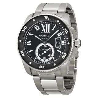 Cartier Men's 'Calibre' Automatic Stainless Steel Watch