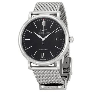 IWC Men's IW356506 'Portofino' Automatic Stainless Steel Watch