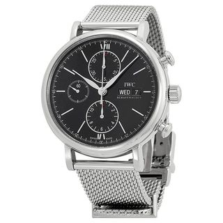 IWC Men's IW391010 'Portofino' Chronograph Automatic Stainless Steel Watch