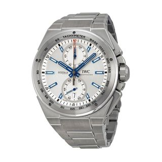 IWC Men's IW378510 'Ingenieur' Chronograph Automatic Tachymeter Stainless Steel Watch|https://ak1.ostkcdn.com/images/products/10354997/P17463428.jpg?_ostk_perf_=percv&impolicy=medium