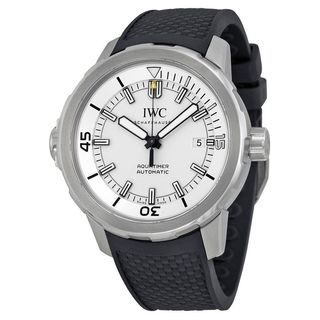 IWC Men's IW329003 'Aquatimer' Automatic Black Rubber Watch
