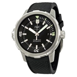 IWC Men's IW329001 'Aquatimer' Automatic Rubber Watch