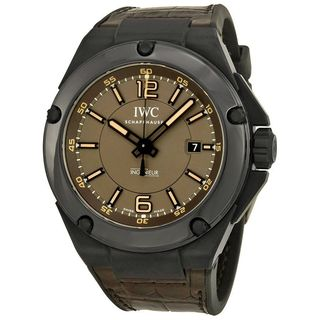 IWC Men's IW322504 'Ingenieur' Automatic Brown Leather Watch