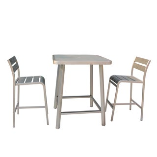 Brava 3-piece Polylumber Outdoor Pub Set