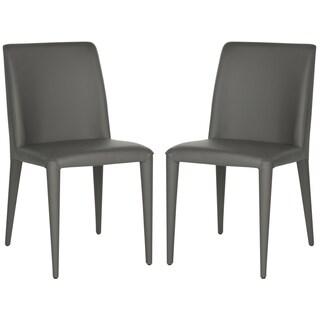Safavieh Metropolitan Dining Garretson Grey Dining Chairs (Set of 2)