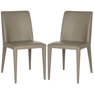 Safavieh Mid-Century Dining Garretson Taupe Dining Chairs (Set of 2)
