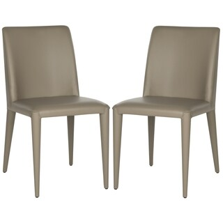 Safavieh Mid-Century Dining Garretson Taupe Dining Chairs (Set of 2)