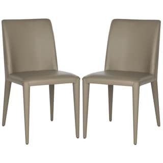 Link to Safavieh Dining Mid-Century Garretson Taupe Dining Chairs (Set of 2) Similar Items in Dining Room & Bar Furniture
