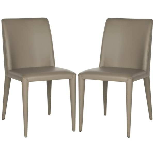Safavieh Dining Mid-Century Garretson Taupe Dining Chairs (Set of 2). Opens flyout.