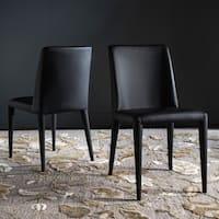 Safavieh Mid-Century Dining Garretson Black Dining Chairs (Set of 2)