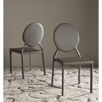 Safavieh Mid-Century Dining Warner Grey Dining Chairs (Set of 2)