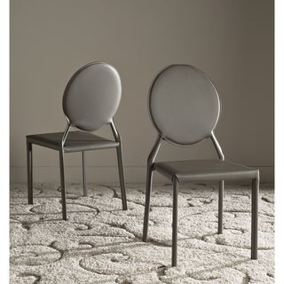 Link to Safavieh Dining Mid-Century Warner Grey Dining Chairs (Set of 2) Similar Items in Dining Room & Bar Furniture