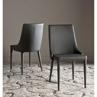 Safavieh Mid-Century Dining Summerset Modern Grey Dining Chairs (Set of 2)