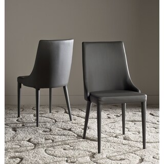Safavieh Mid-Century Dining Summerset Modern Grey Dining Chairs (Set of 2)