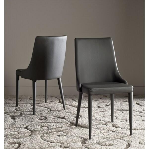 Safavieh Mid Century Dining Summerset Modern Grey Dining Chairs (Set Of 2)
