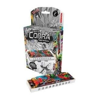 Hohner White Cobra Key of C Harmonica