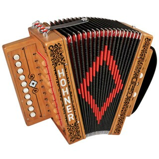 Hohner Cajun IV 10-key Accordion