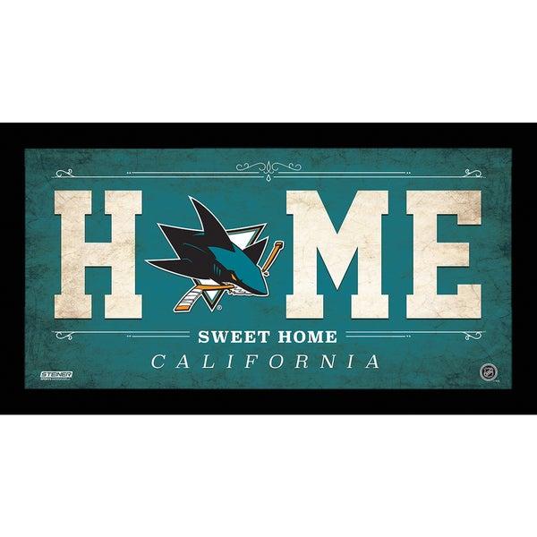 San Jose Sharks 10x20 Home Sweet Home Sign