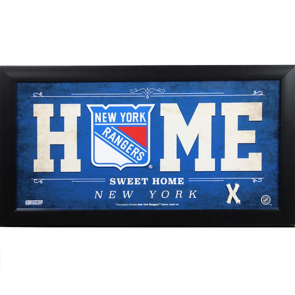 Shop New York Rangers 10x20 Home Sweet Home Sign