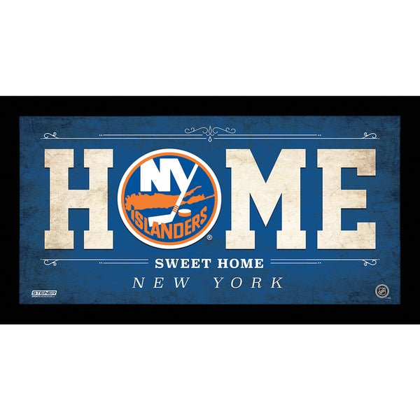 Shop New York Islanders 10x20 Home Sweet Home Sign