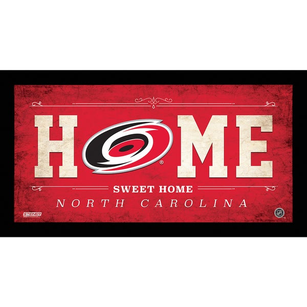 Carolina Hurricanes 10x20 Home Sweet Home Sign