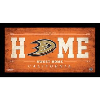 Anaheim Ducks 10x20 Home Sweet Home Sign