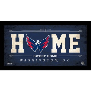 Washington Capitals 10x20 Home Sweet Home Sign