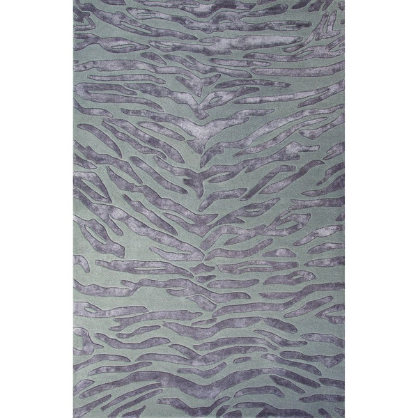 Shop National Geographic Hand Tufted Animal Pattern