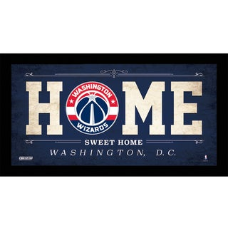 Washington Wizards 10x20 Home Sweet Home Sign