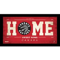 Toronto Raptors 10x20 Home Sweet Home Sign