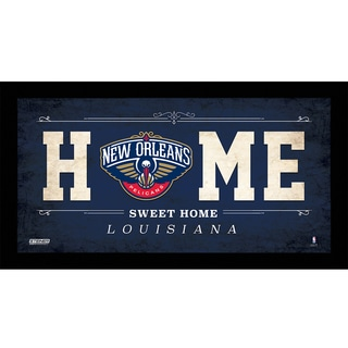 New Orleans Pelicans 10x20 Home Sweet Home Sign