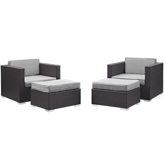 Gather 4 Piece Outdoor Patio Sectional Set