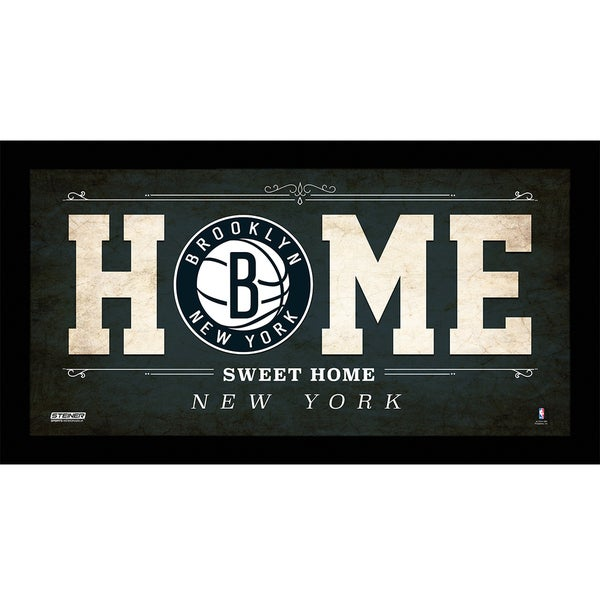 Brooklyn Nets 10x20 Home Sweet Home Sign