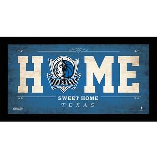 Dallas Mavericks 10x20 Home Sweet Home Sign