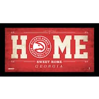Atlanta Hawks 10x20 Home Sweet Home Sign
