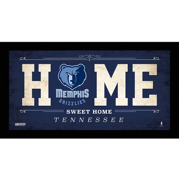 Memphis Grizzlies 10x20 Home Sweet Home Sign