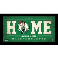 Boston Celtics 10x20 Home Sweet Home Sign