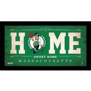 Boston Celtics 10x20 Home Sweet Home Sign