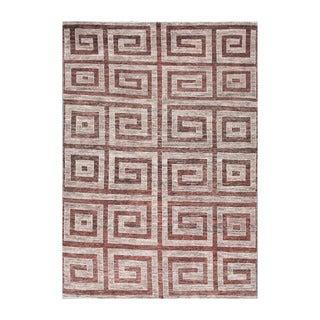 Herat Oriental Afghan Hand-knotted Tribal Vegetable Dye Gabbeh Wool Rug (6'9 x 9'8)
