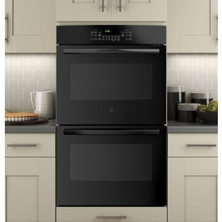 GE Black 30-inch Built-in Double Wall Convection Oven