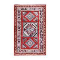 Herat Oriental Afghan Hand-knotted Tribal Vegetable Dye Super Kazak Wool Rug (2' x 3'3) - 2' x 3'3