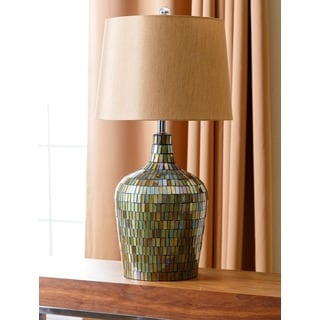ABBYSON LIVING Allesandra Mosaic Table Lamp