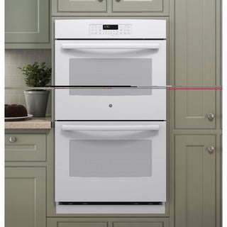 GE 30-inch Built-in Double Wall Oven White