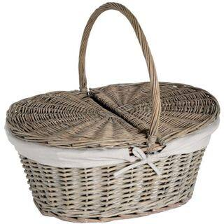 Oval Willow Picnic Basket with Lid|https://ak1.ostkcdn.com/images/products/10356015/P17464409.jpg?impolicy=medium